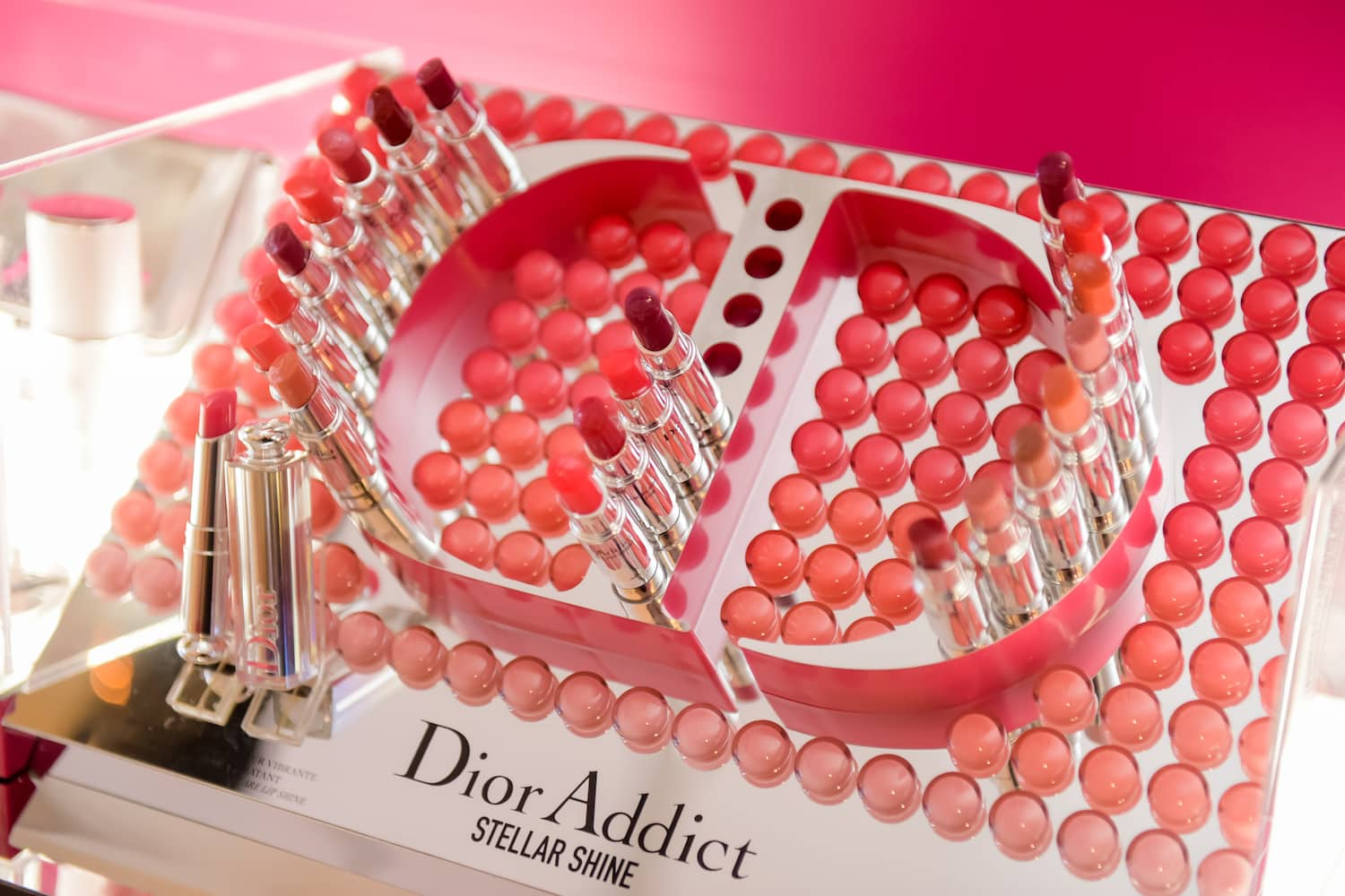 Dior Addict Stellar Shine pop up ion