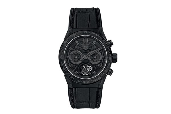Carbon Fibre Watches: TAG Heuer