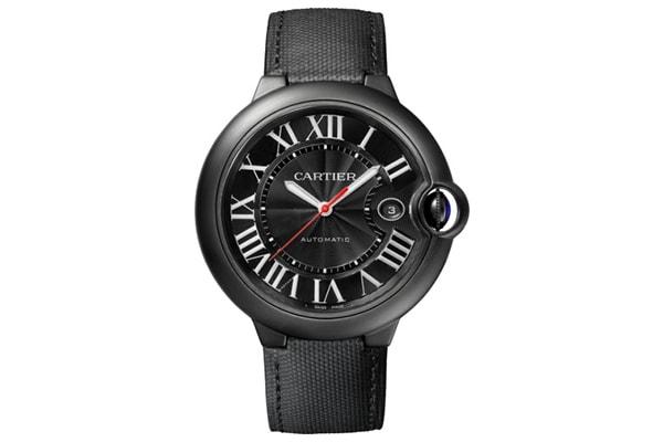 Carbon Fibre Watches: Cartier