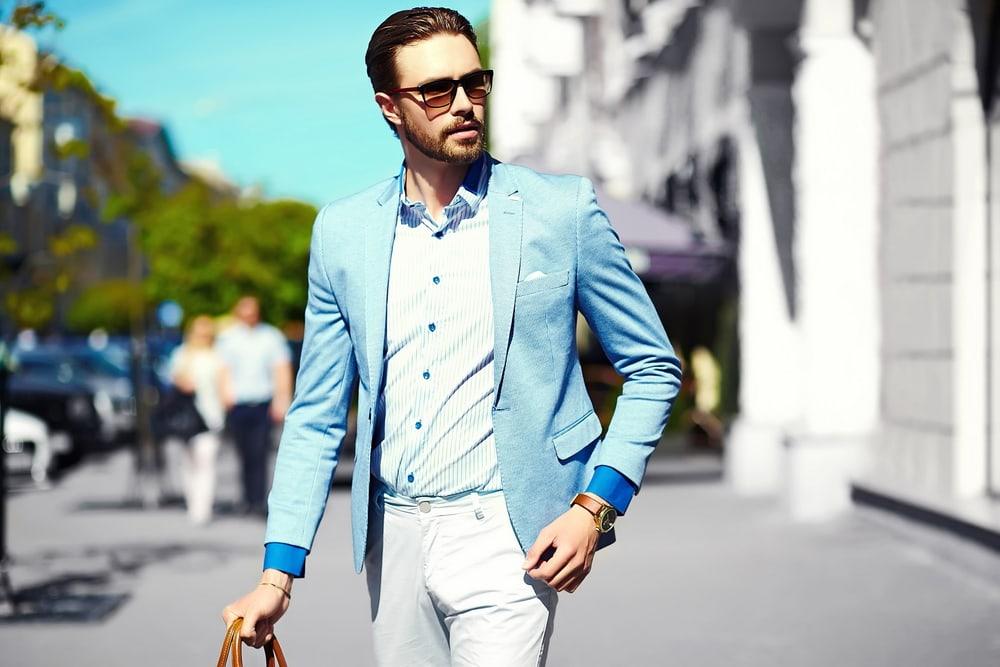 business casual dressing men