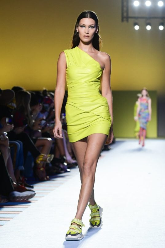Versace. Image: Courtesy Getty