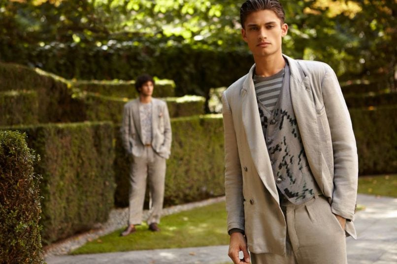 Pairing Watch Suit: Emporio Armani