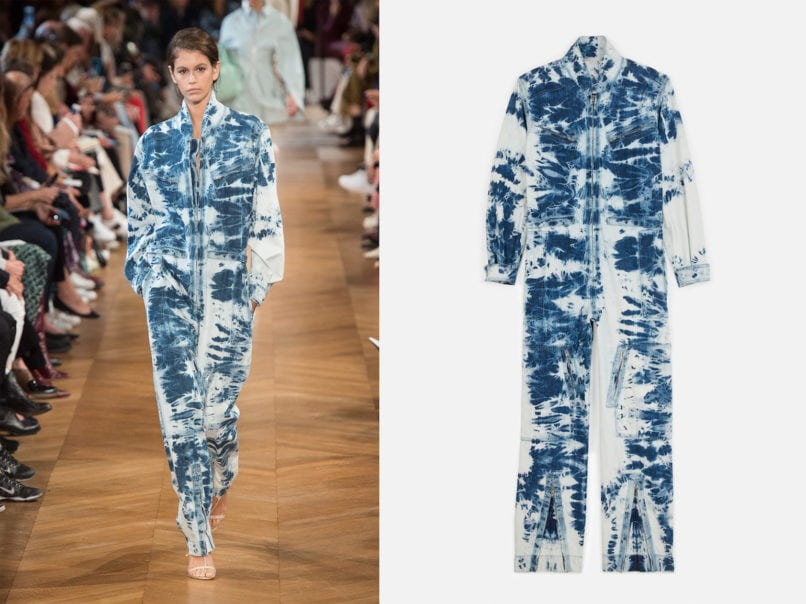 Stella McCartney spring summer 2019 runway look and product image
