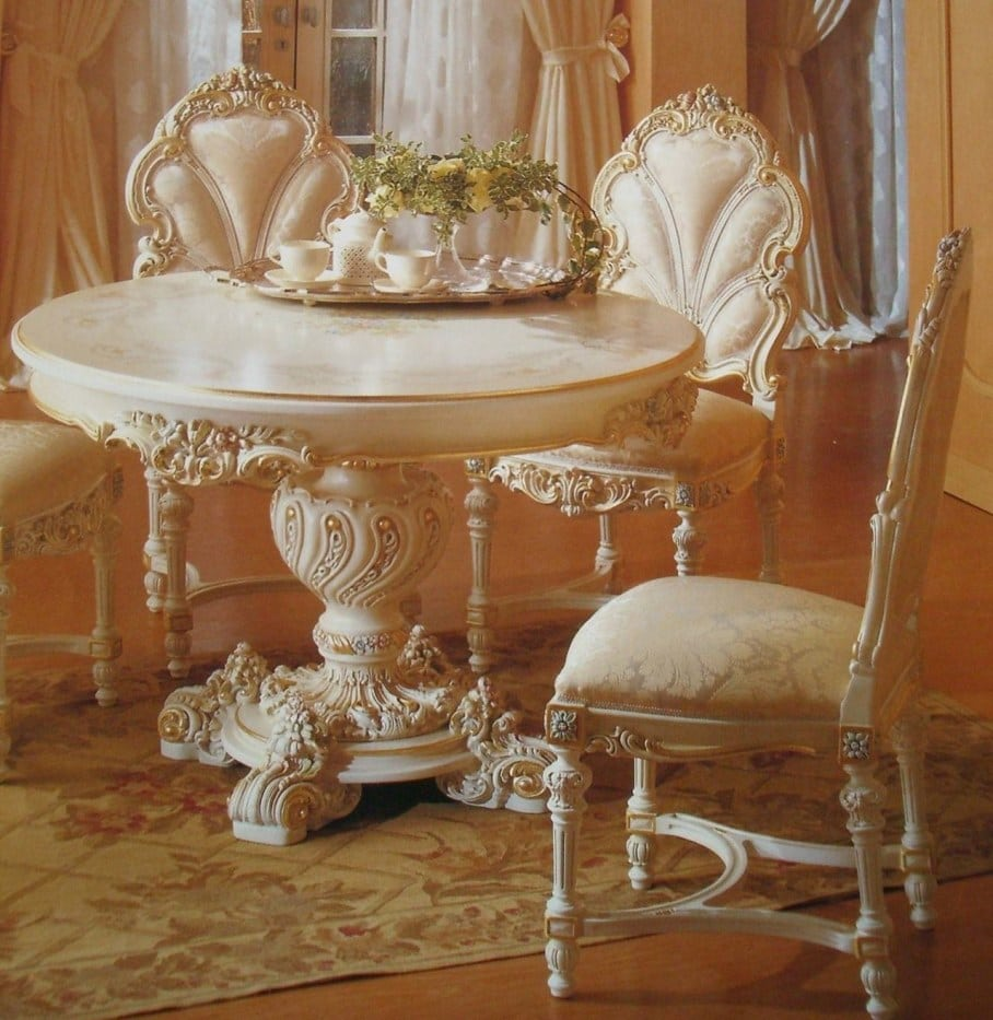 How to deck out your home lavishly in Rococo style ala Marie