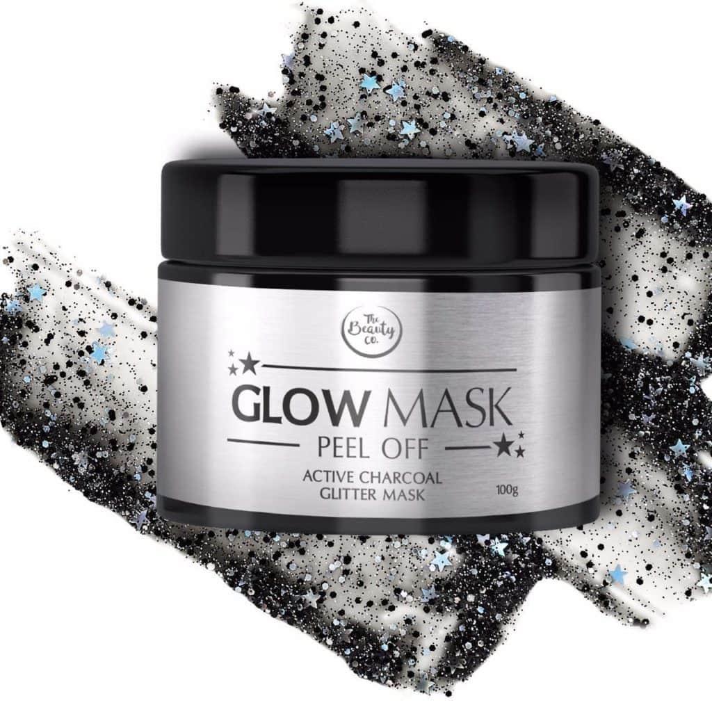 Charcoal Glitter Glow Mask
