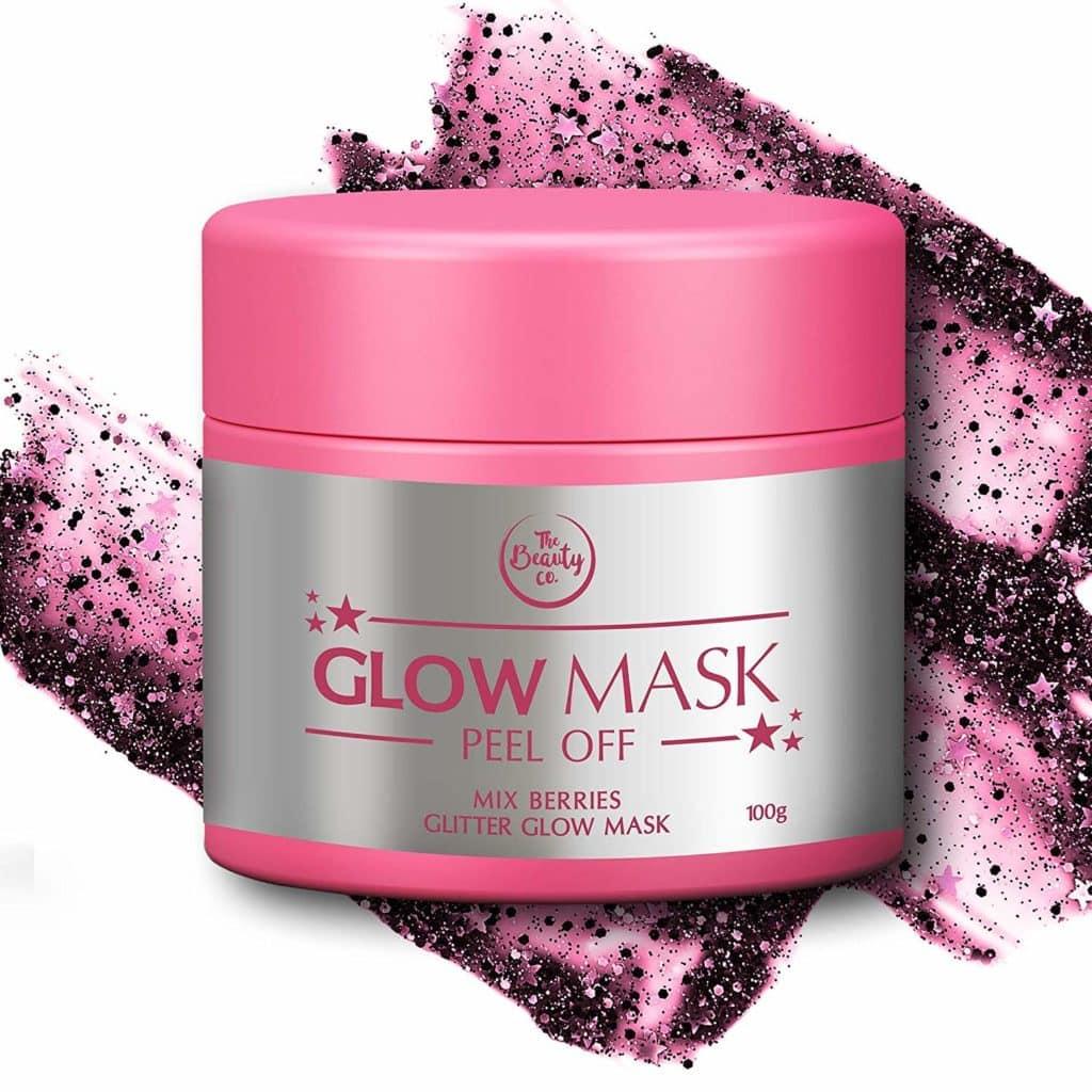 Mix Berries Glitter Glow Mask