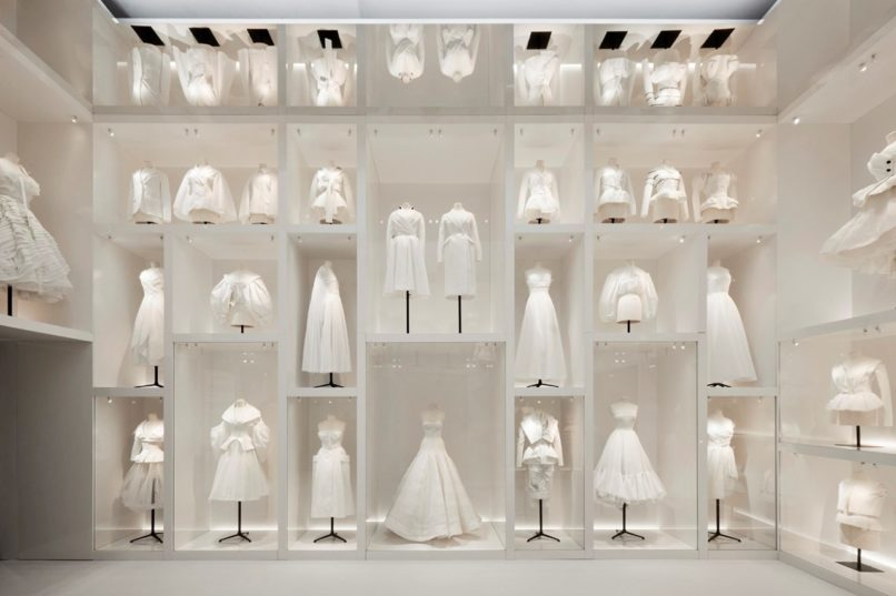 The Ateliers at The Christian Dior Designer of Dreams Exhibition at the V&A