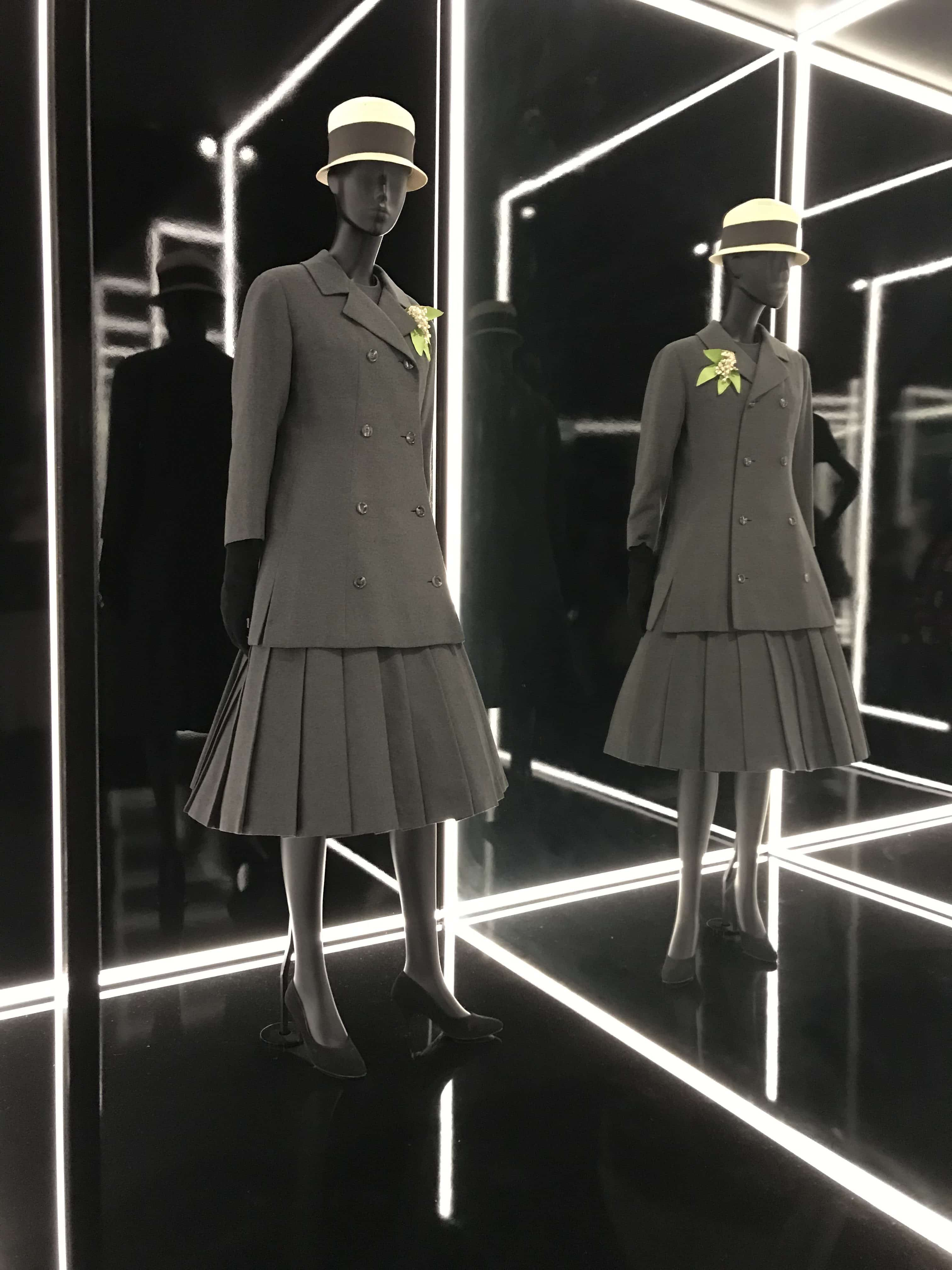 The Christian Dior Designer of Dreams Exhibition at the V&A. The A Suit by Dior.