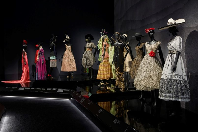 The Christian Dior Designer of Dreams Exhibition at the V&A.
