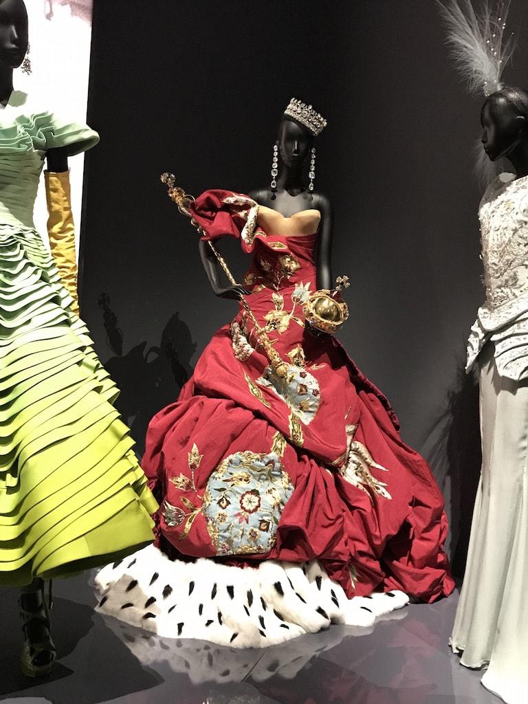John Galliano. The Christian Dior Designer of Dreams Exhibition at the V&A
