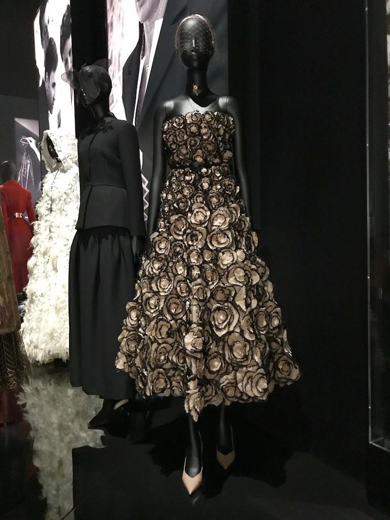 The Christian Dior Designer of Dreams Exhibition at the V&A. Maria Grazia Chiuri.