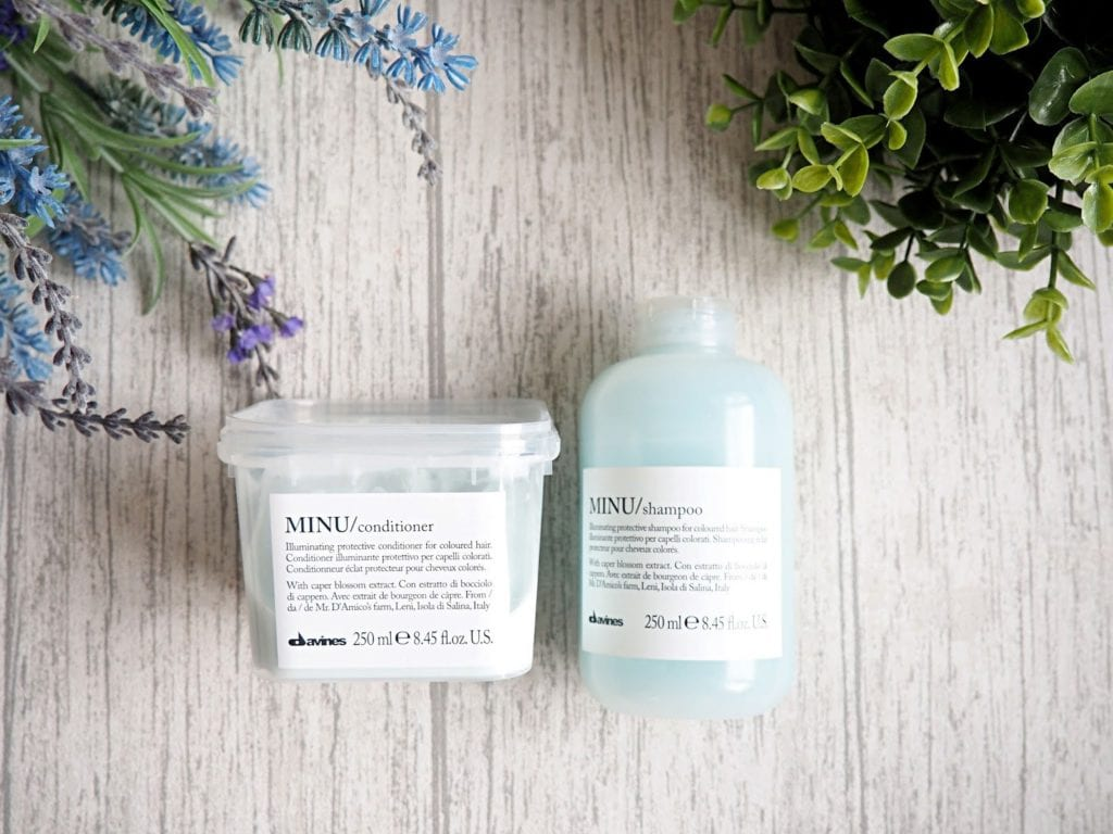 MINU Illuminating and Protective Shampoo for Coloured Hair