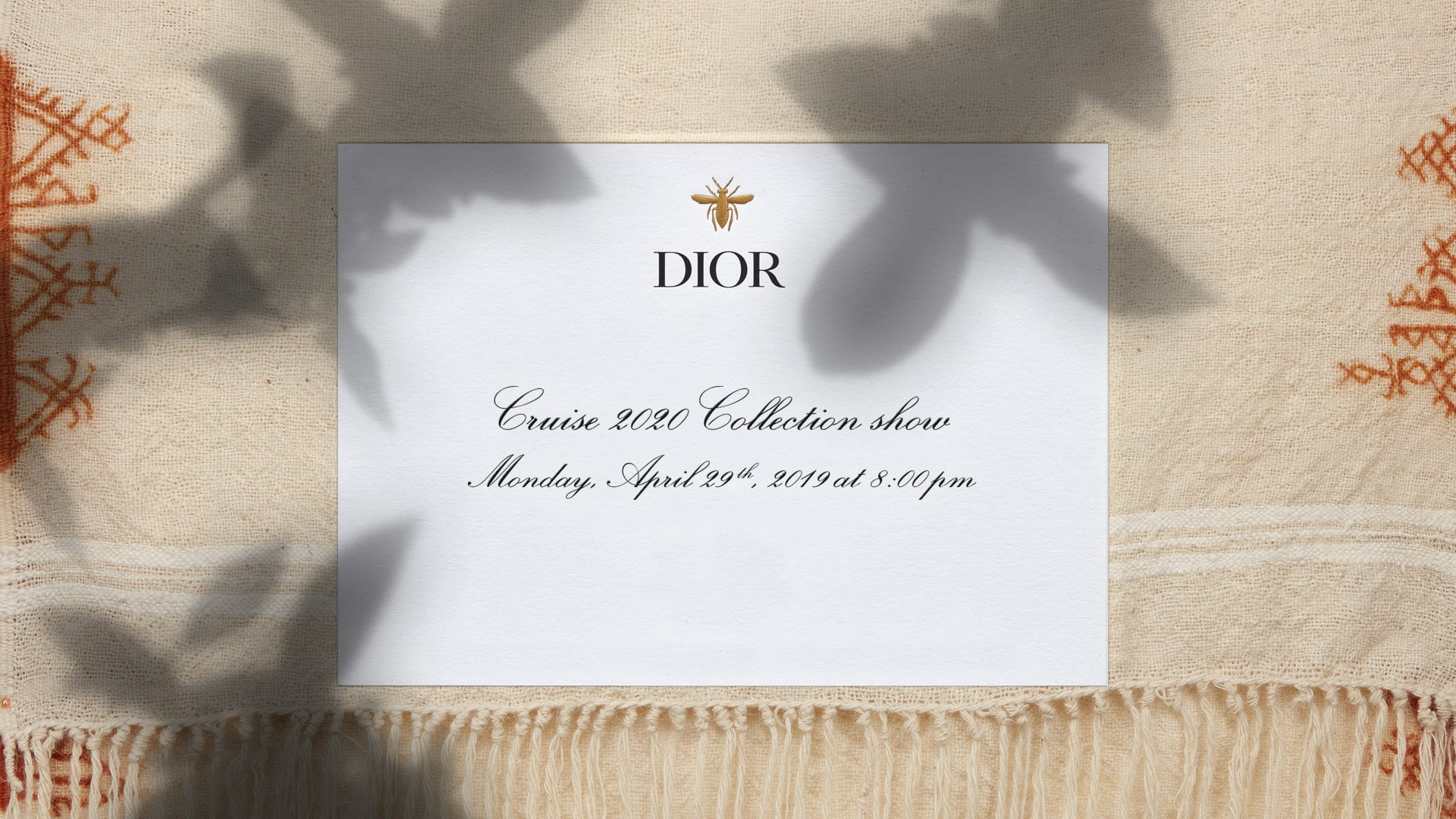 69704299 Watch: Dior Cruise 2020 fashion show, live from Marrakech