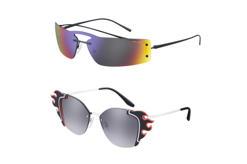 Prada SPR 61V and SPR 59V shades