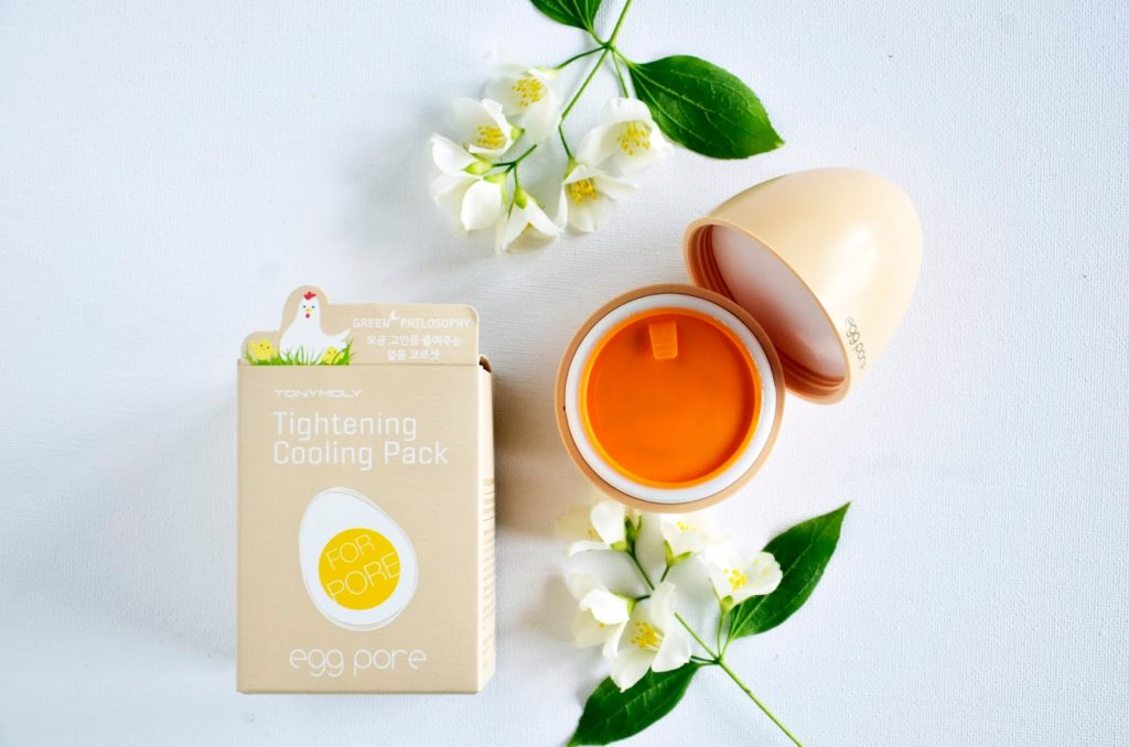 TonyMoly Egg Pore Tightening Cooling Pack, Rs 750