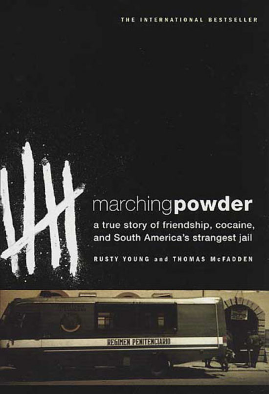 books to read when travelling. marching powder