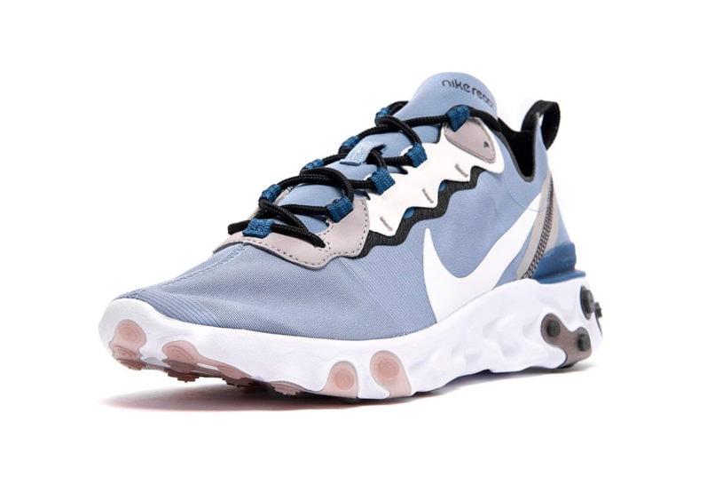 Nike React Element 55, Indigo Fog
