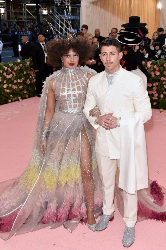 Priyanka Chopra and Nick Jonas at the Met Ball 2019