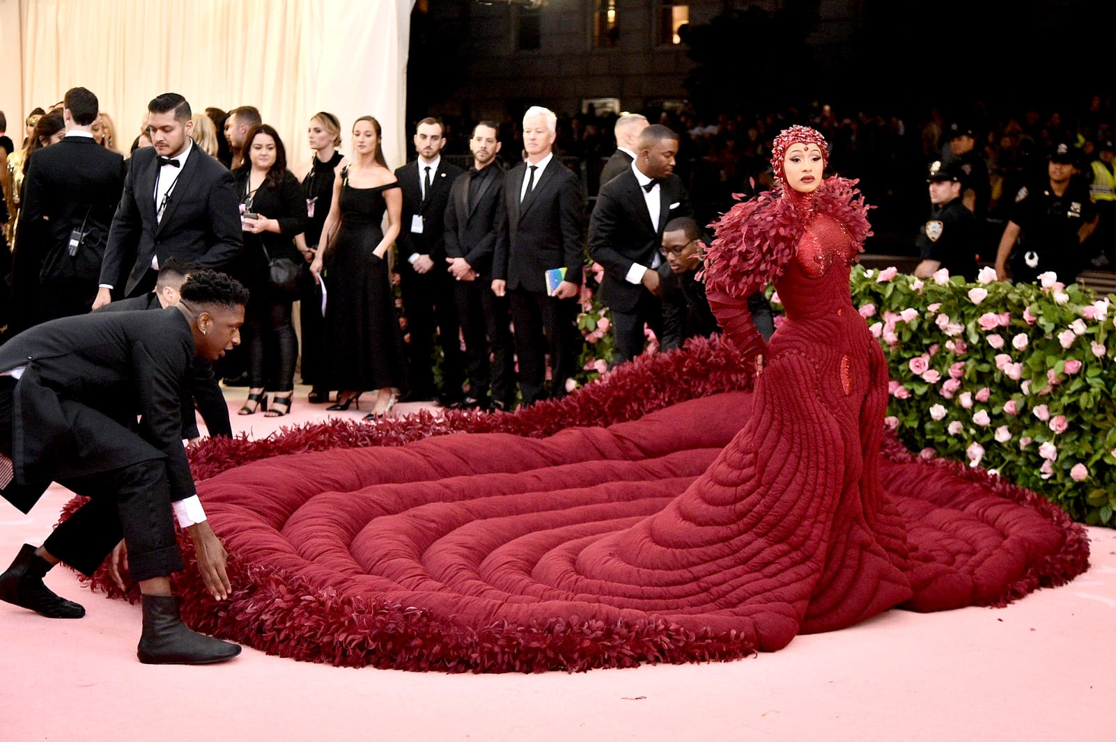 Cardi B at the Met Ball 2019