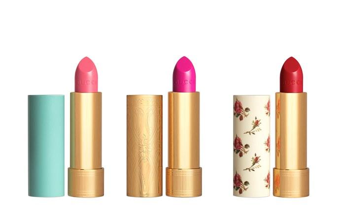 Gucci's Lipstick Campaign.