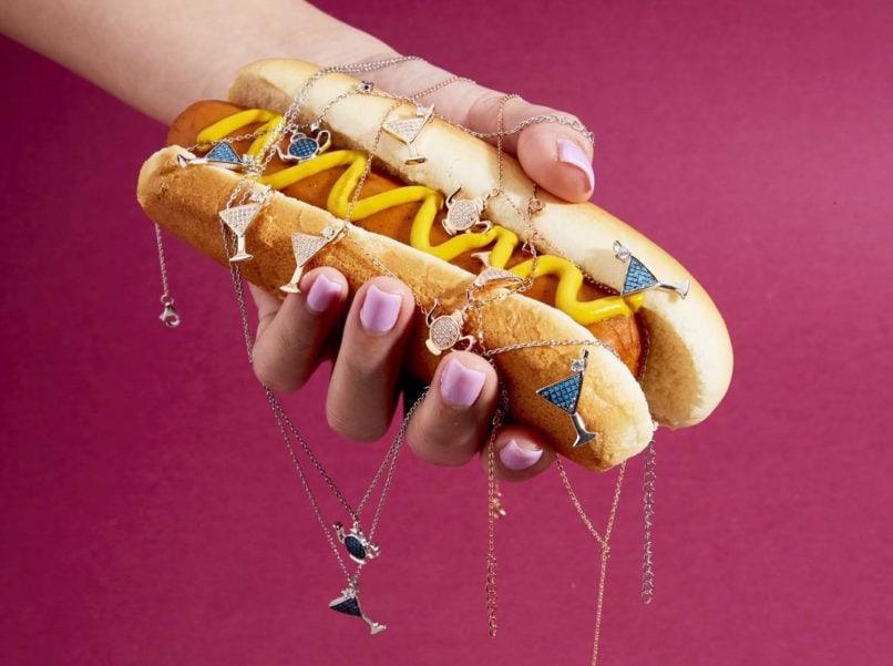 Food-themed jewellery: Haus of Jewelry