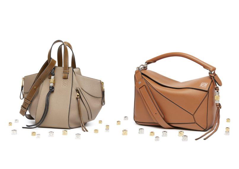 Loewe Hammock bag and Puzzle bag