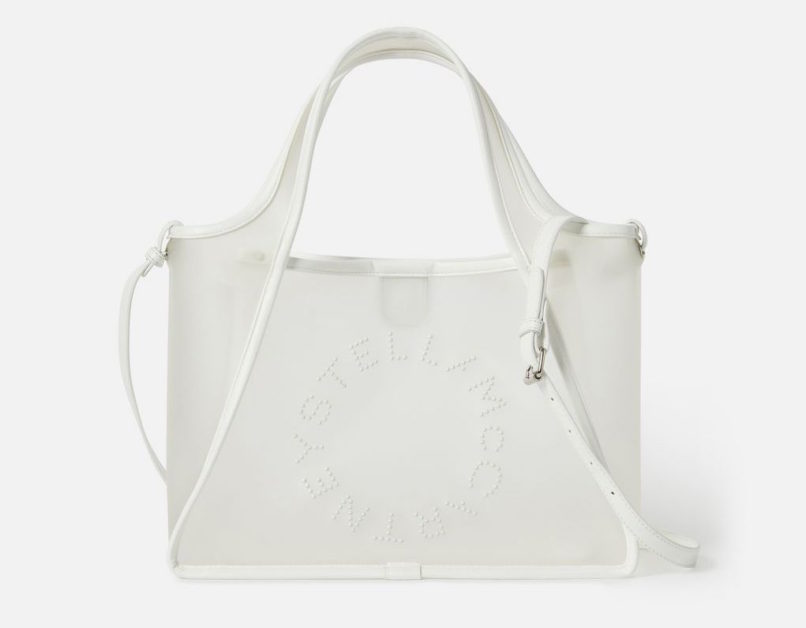 Stella McCartney Non-PVC see through tote