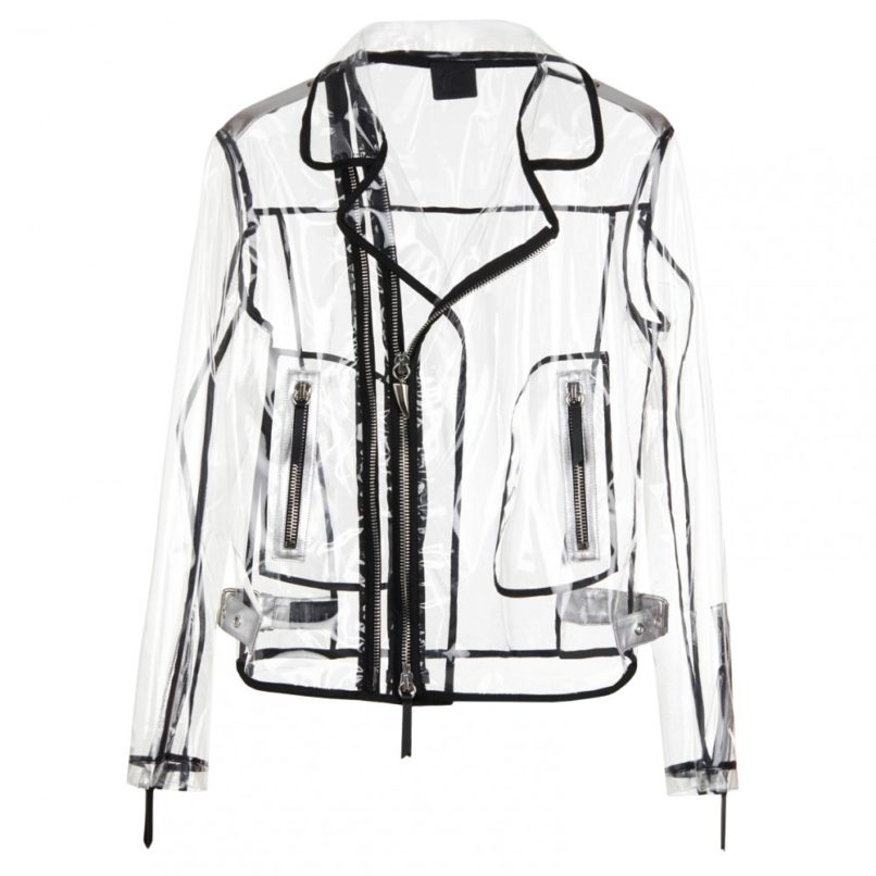 Giuseppe Zanotti invisible see through jacket