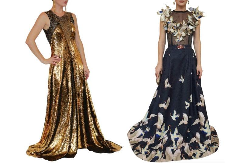 Lotte Delima Designs and Hengki Kawilarang gowns