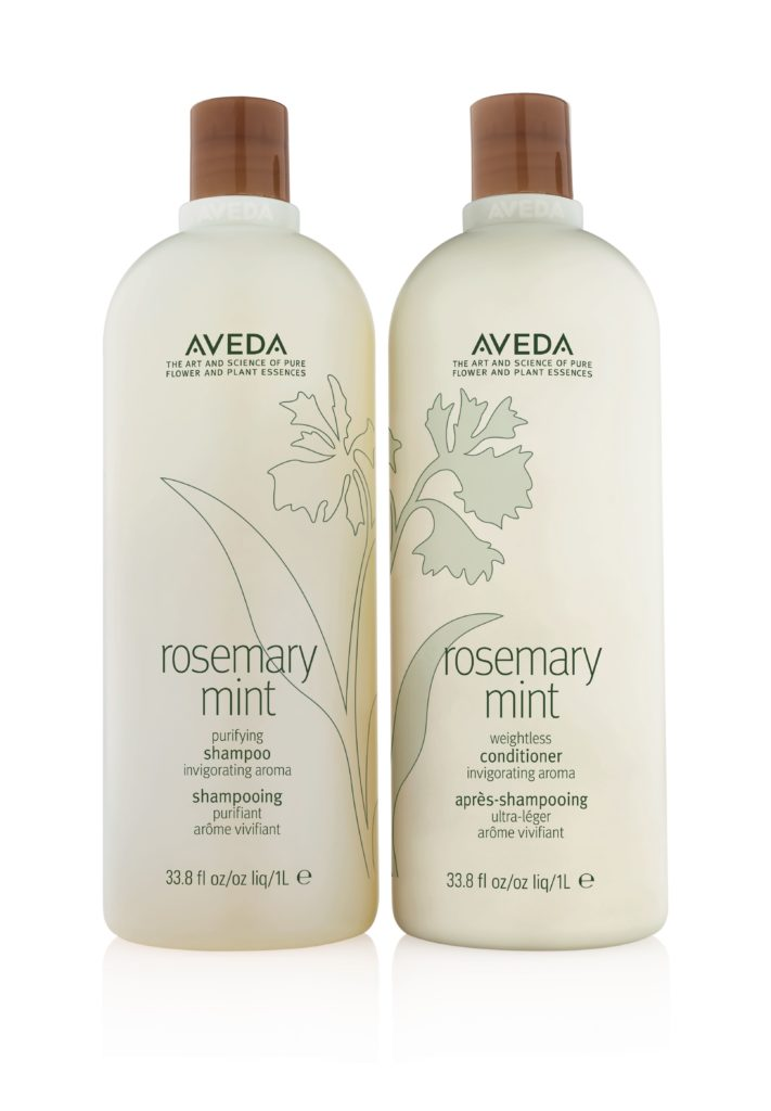 Aveda Cherry Almond, Shampure and Rosemary Mint