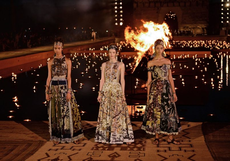 The Dior Cruise 2020 collection, presented at Palais El Badi, Marrakech.