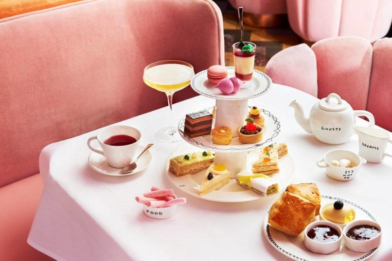 Afternoon tea etiquette: Sketch London