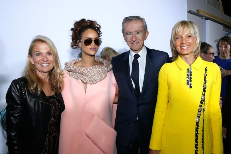 Fashion industry news lvmh and rihanna fenty