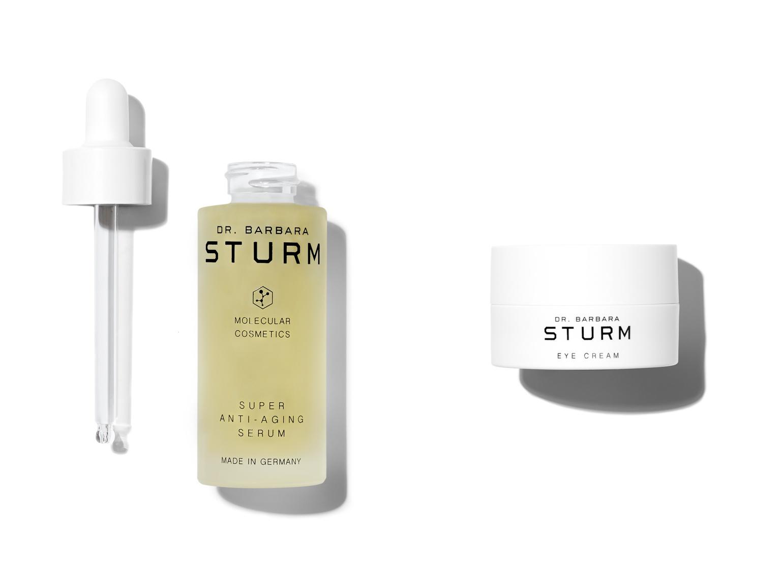Dr. Barbara Sturm - eye cream and super anti-ageing serum