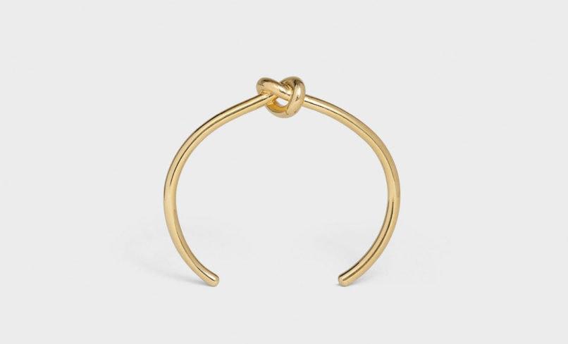 Cuff bracelets: Celine