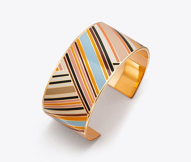 Cuff bracelets: Tory Burch