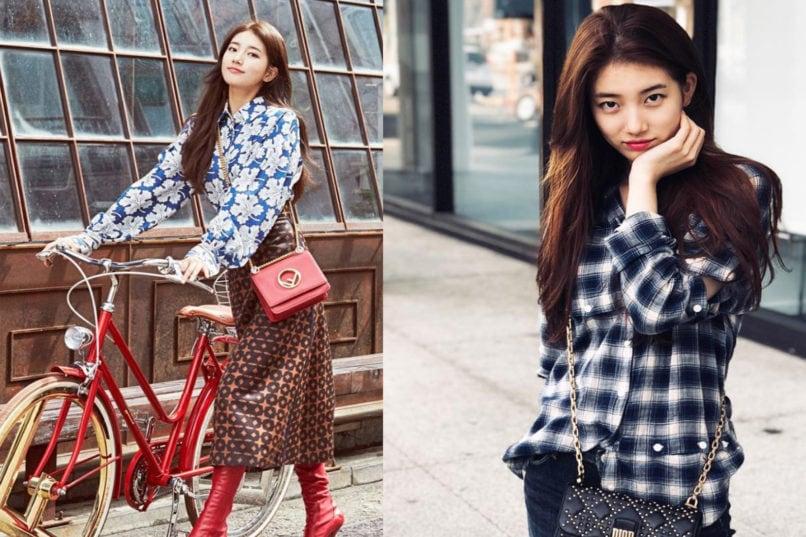 Suzy's fashion looks