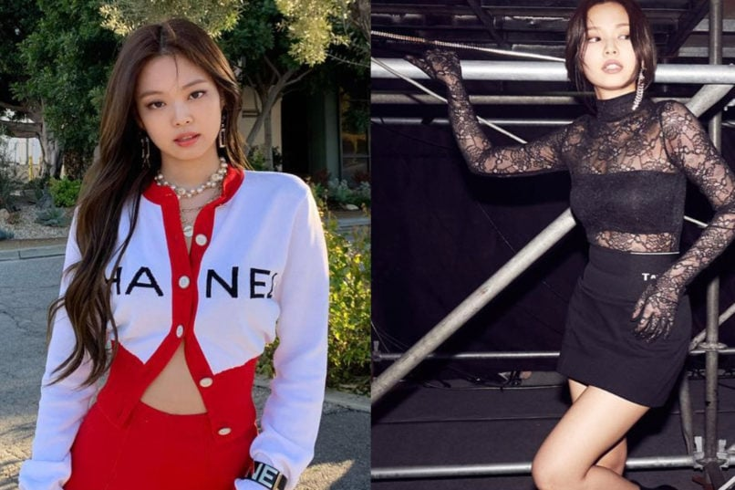 Jennie's fashion looks