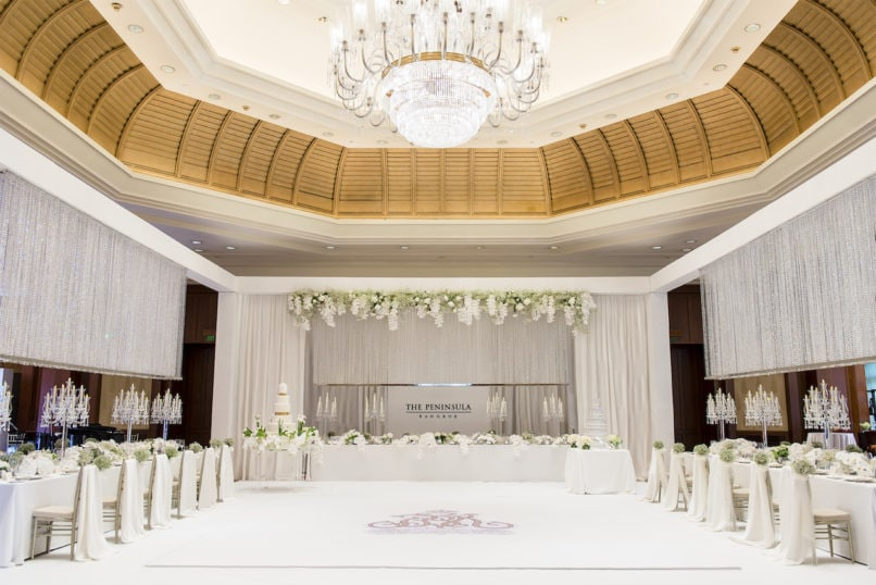 Best Wedding Services in Bangkok from The Peninsula