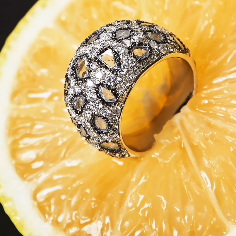 Fiona Dome ring by Jewellery designer Payal Shah. Image: Courtesy Payal Shah