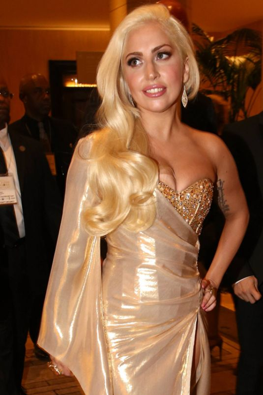 Lady Gaga at Golden Globes in pieces created by jewellery designer Payal Shah. Image: Courtesy Payal Shah