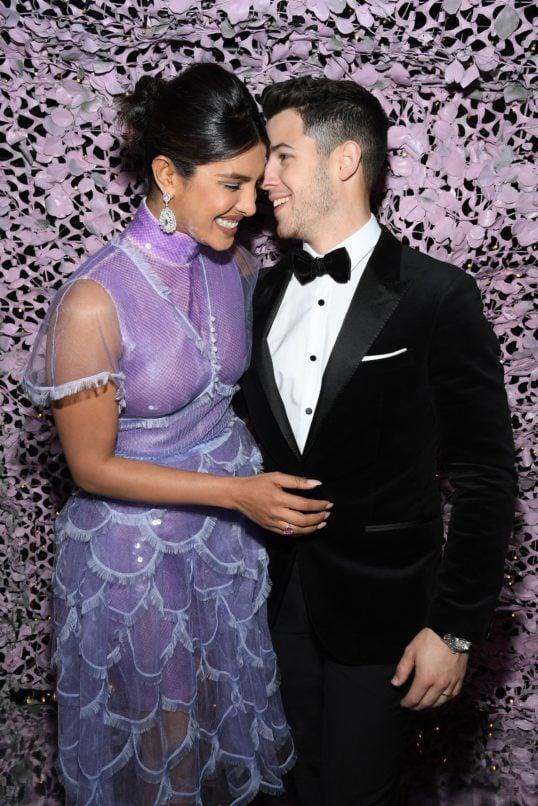 Priyanka Chopra Nick Jonas at Chopard LOVE Night. Image: Courtesy Chopard