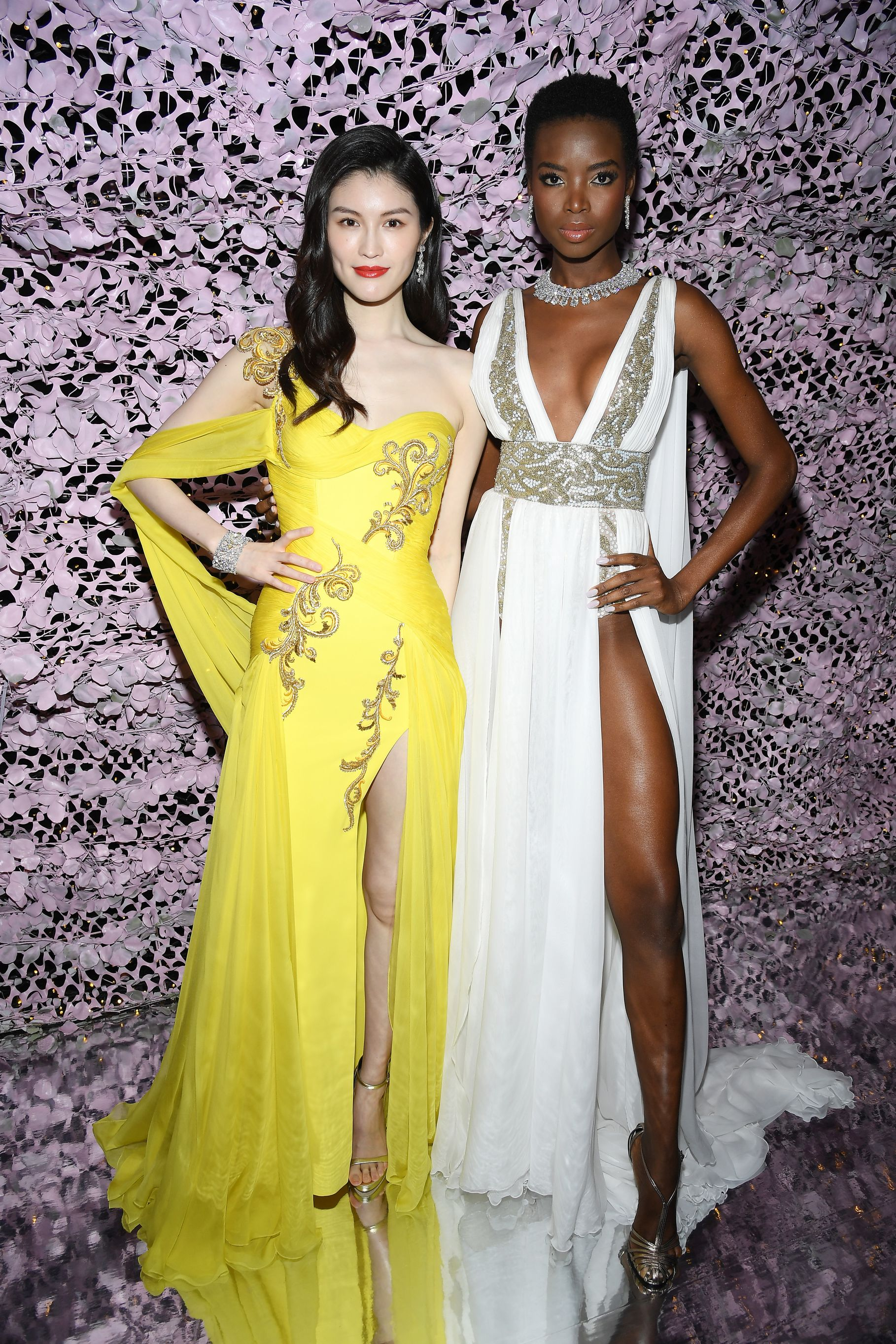 Models Sui He and Maria Borges at Chopard LOVE Night. Image: Courtesy Chopard
