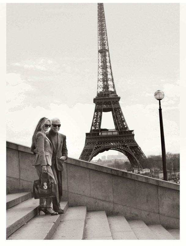 Ricky and Ralph Lauren in Paris. Image: Courtesy Ralph Lauren