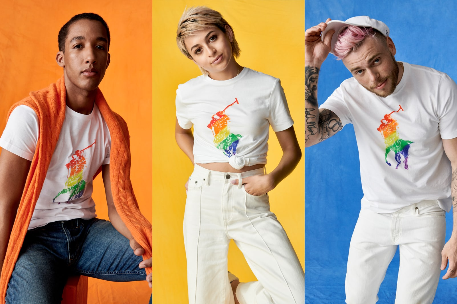 https://fiftyshadesofgay.co.in/Fashion/Ralph Lauren and Rainbow Pony Collection