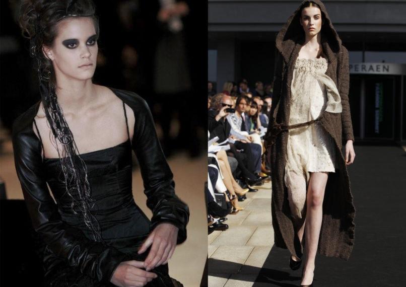 Archival fashion works of Ásta Vilhelmína