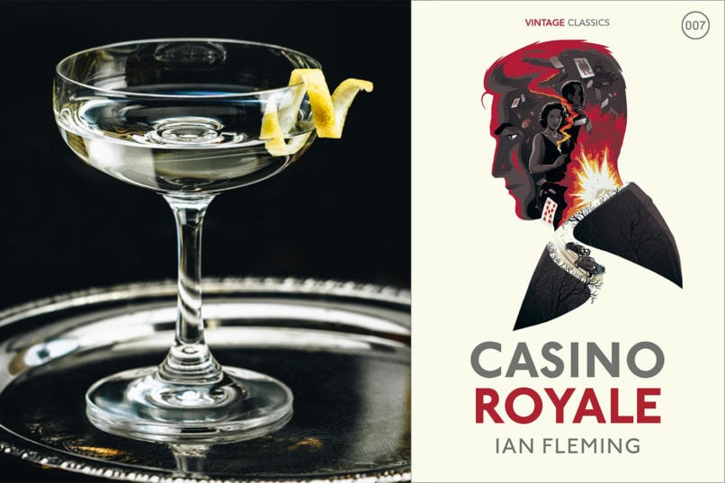 Cocktails from Famous Novels: Vesper