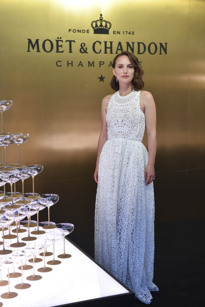 Natalie Portman at Moet & Chandon 150th Anniversary Celebration