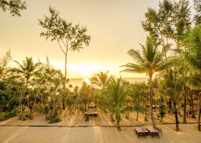 Baba Beach Club phuket luxury villa sunset review