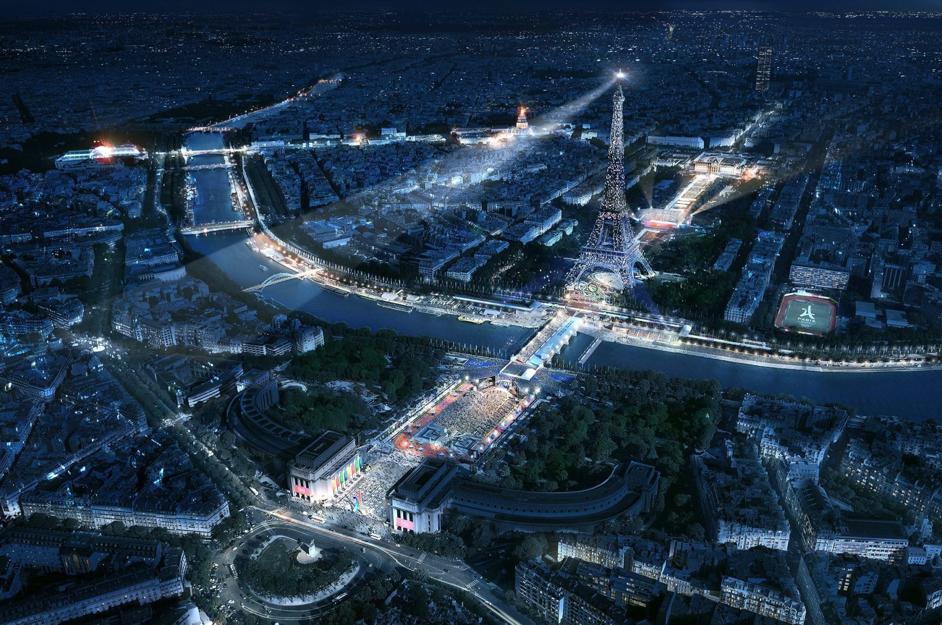 Paris 2024 Summer Olympics: the Champ de Mars is having a makeover